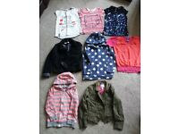 GIRLS TOPS AND JACKETS AGE 5-6