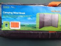 Tesco camping windbreak