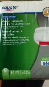 *Exact Brand Incontinence underwear*