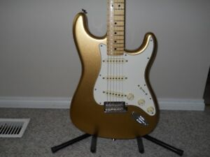 fender Strat 60th anniversary edition made in usa