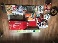 Red Nintendo Wii 25th anniversary edition!