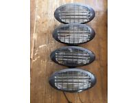 Wall Mounted Electric Patio Heaters x 4