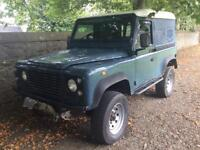 Land Rover 300tdi defender galvanised chassis