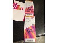2x World Athletics Tickets