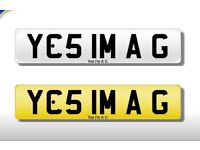 Private number plate plates registration Cherished quick sale yes I'm a g