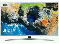 "Samsung 40"" LED 4K UHD smart wifi tv built in HD freeview USB"