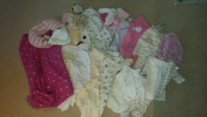 Girl 0-3 month clothes