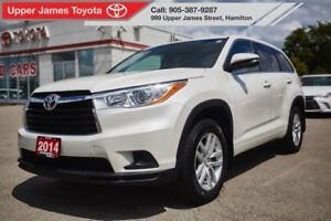 2014 Toyota Highlander LE AWD - Room for the whole family!