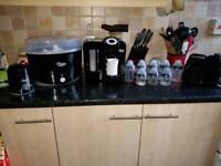 Tommee tippee bottle machine and Steriliser plus extras set