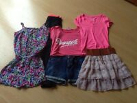 Bundle of girls clothes age 12-13