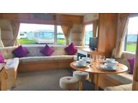 2 Bedroom Caravan For Sale With All Fees & Full Inventory Included At Sandylands Open All Year