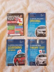 Learn to drive books + CD