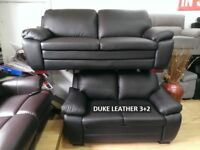 lowest price full leather sofas ever duke, bentley, supra 3+2 sofa sets recliners, chesterfields BIR