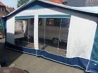 Bradcott caravan awning plus 2 annexes
