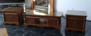 3 Piece Coffee & End Tables
