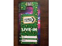 Kendal Calling Live in Vehicle ticket