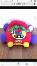 Baby soft car toy