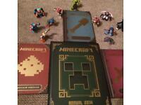 Mine craft 📚 books and figures
