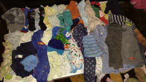 Baby boy clothes from 3 to 18 months