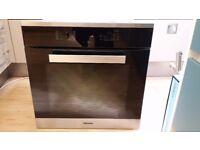 Miele H2661BP-1 Built-In Multifunction Single Oven, Brushed Steel ex display