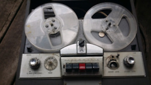 Vintage Seabreeze Tape O Matic model 710 S Reel To Reel Tape Rec