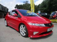 HONDA CIVIC 2.0 I-VTEC TYPE-R GT 3d 198 BHP (red) 2009
