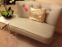Designer compact sofa