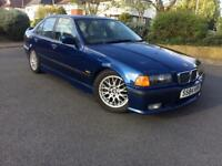 BMW E36 318is Avus Blue Saloon