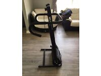 Foldable running machine