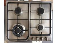 CDA brushed steel gas hob cooker stove top