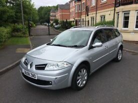 RENAULT MEGANE 1.6 PETROL ESTATE,12 MONTHS MOT,LOW MILEAGE,1 OWNER.