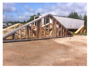 17 Truss and 2 Gables for sale.