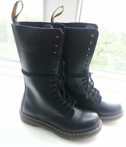 "Doc Martens ""1914 Smooth"" 14-Eye Boot--Women's Size 8/8.5"