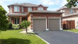 AMAZING DETACHED 2 STORY HOME for rent 4 + 1 Bedrooms