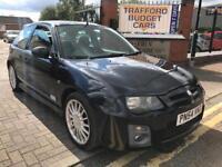 MG Zr 1.4 2004 facelift. 12 months MOT. FSH. Drives mint.