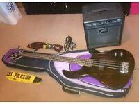 Bass Guitar, AMP & accessories