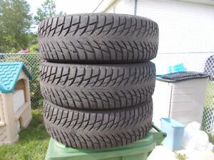 P225/65/17 inch Winter Tires / GOOD DEAL / GOOD TREAD