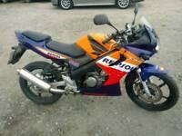 2005 Honda cbr 125cc '12 months mot' 18k