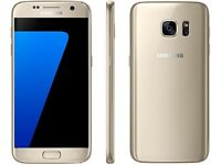 Gold Samsung s7 brand new