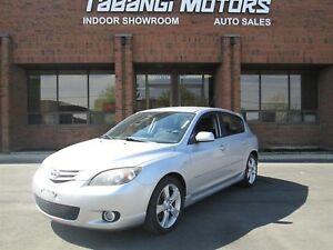 2004 Mazda Mazda3 2.3L   HATCHBACK   5 SPEED MANUAL  