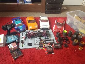 RC Drift car.. with loads of spare parts