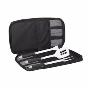 BRAND NEW Messermeister 4 Pc. BBQ Meister Travel Tool Set