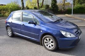 FOR SALE 2004 PEUGEOT 307 2.0 HDI DIESEL MOT MAY 2018