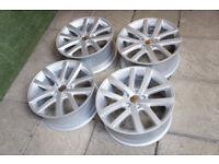 """18"""" Charleston Style Alloy wheels fits VW Golf 5x112 Passat Caddy Touran Audi A3 A4"""