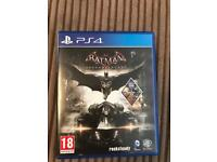 PS4 batman game special edition!! Lots of extras!!