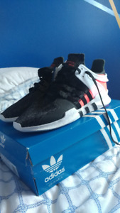 BRAND NEW Adidas EQT Support ADV - Core Black/Turbo Red BB1302