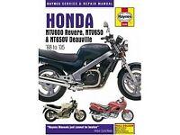 Haynes manual honda deauville NT650