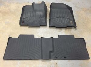 Weathertech Floor liners(Ford Edge and Mitsubishi Lancer)