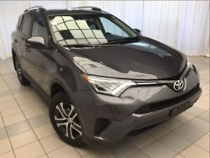 2016 Toyota RAV4 LE: Accident Free, Upgrade Package.