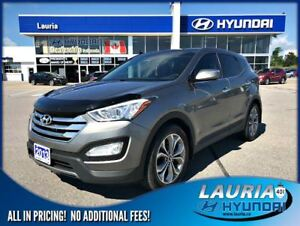 2013 Hyundai Santa Fe Sport 2.0T Limited - Leather / Navigation